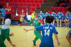 Esporte do handball. Fotografia de Stock Royalty Free