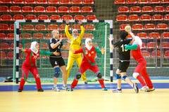 Esporte do handball. Foto de Stock Royalty Free