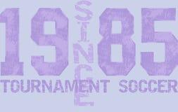 Esporte do número Fotografia de Stock Royalty Free