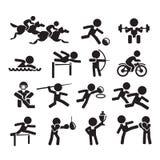 Esporte dos ícones Foto de Stock Royalty Free