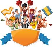 Esporte dos desenhos animados Imagem de Stock