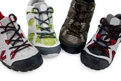 Esporte e calçados ocasionais Fotografia de Stock Royalty Free