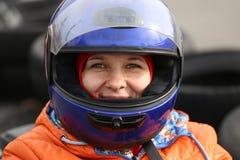 Esporte e recreação populares da trilha de Karting Imagem de Stock