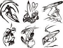 Esporte extremo 4. ilustração stock