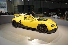 Esporte grande de Bugatti Veyron EB imagem de stock