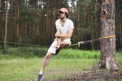 Esporte, lazer, recreação e conceito ativo saudável do estilo de vida Fotos de Stock