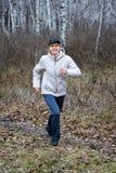 Esporte na floresta Foto de Stock