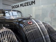 Esporte popular de Skoda - Monte Carlo - carro do veterano Imagens de Stock Royalty Free