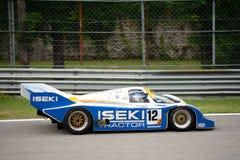 Esporte-protótipo 1985 do grupo C de Porsche 956 Foto de Stock Royalty Free