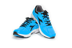 Esporte running da sapata Fotografia de Stock