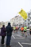 Esporte running do exercício da maratona saudável Fotos de Stock