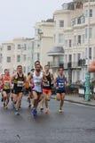Esporte running do exercício da maratona saudável Imagens de Stock Royalty Free
