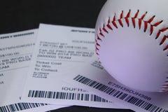 Esportes apostados no basebol fotos de stock