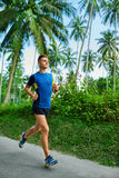 esportes Corredor desportivo do corredor Treinamento do basculador, movimentando-se Aptidão imagem de stock