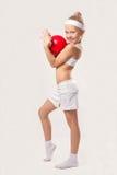 Esportes das crianças - alegria e saúde Imagens de Stock Royalty Free