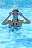 Esportes de água foto de stock