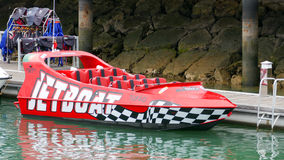 Esportes de água no feriado - Jetboat Fotografia de Stock