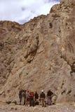 Esportes de escalada Foto de Stock Royalty Free