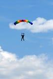 Esportes de Extreem. salto de pára-quedas Fotografia de Stock