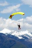 Esportes de Extreem. salto de pára-quedas Foto de Stock Royalty Free