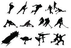 Esportes de inverno Imagem de Stock