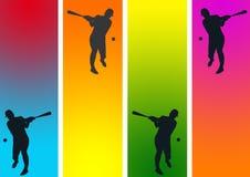 esportes do basebol   Ilustração Royalty Free