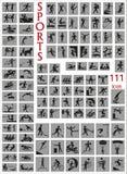 Esportes dos ícones Fotos de Stock Royalty Free