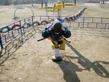 Esportes e crianças Fotos de Stock Royalty Free