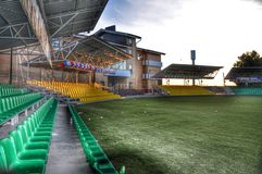 Esportes e facilidades recreacionais para eventos e celebrações Imagem de Stock Royalty Free