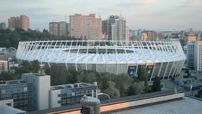 Esportes nacionais olímpicos o Estádio Olímpico complexo, estádio central em Kiev, Ucrânia, video estoque