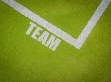 Esportes Team Markings imagem de stock royalty free