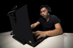 ESports Fachowy Konkurencyjny Gamer obrazy royalty free
