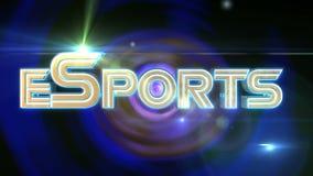 ESports-Gold stock footage