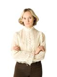 Esposa irritada Imagem de Stock Royalty Free