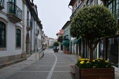 Esposende, the second day of the way to Santiago de Compostela Royalty Free Stock Photos