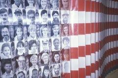 Esposizione alla sosta nazionale dell'isola di Ellis Fotografie Stock Libere da Diritti