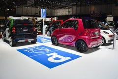 Esposizione astuta di parcheggio dell'automobile Immagine Stock Libera da Diritti