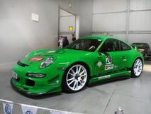 Esposizione automatica superba di Porsche delle vetture da corsa immagini stock