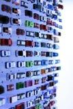 Esposizione calda delle ruote Fotografia Stock Libera da Diritti