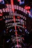 Esposizione chiara sulla via di Freemont Fotografia Stock Libera da Diritti
