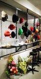 Esposizione dei cappelli Immagine Stock