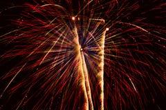 Esposizione dei fuochi d'artificio. Fotografia Stock Libera da Diritti