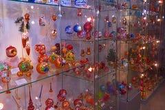 Esposizione dei giocattoli di Natale Immagini Stock Libere da Diritti