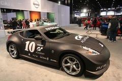 Esposizione dei Nissan Immagini Stock Libere da Diritti
