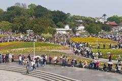 Esposizione del fiore a TAIPEH Immagine Stock Libera da Diritti