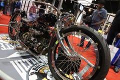 Esposizione del motociclo immagine stock