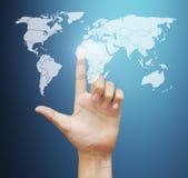 Esposizione del touch screen Immagine Stock Libera da Diritti