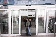 Esposizione dell'alimento di anno del coniglio a Chongqing, Cina Immagini Stock