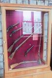 Esposizione dell'arma antica differente Immagini Stock