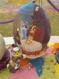 Esposizione dell'uovo di Pasqua Immagine Stock Libera da Diritti